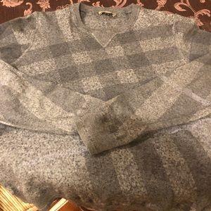 Burberry men's cashmere sweater.